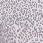 Pale Pink Grey Leopard